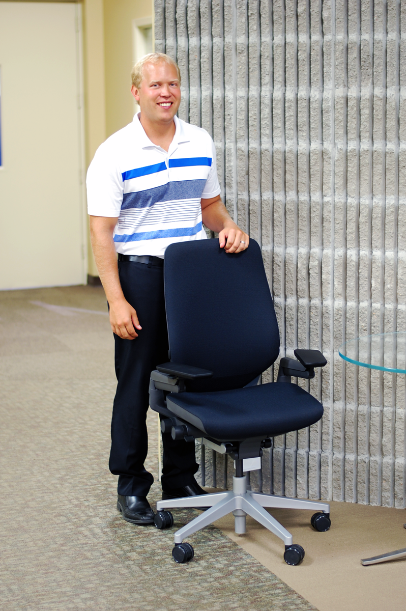 Tommy-Visty - Gesture Chair Winner - Steelcase - SBI Sheppard's Business Interiors