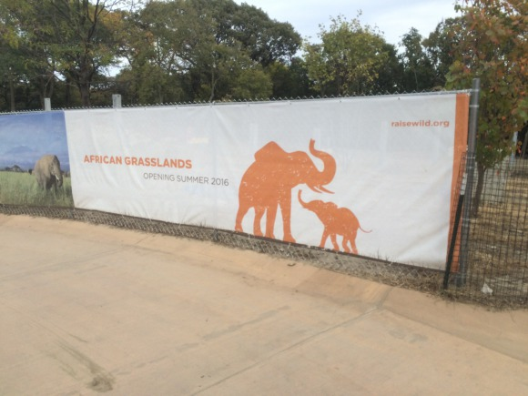 Banner for the African Grasslands at Omaha Henry Doorly Zoo