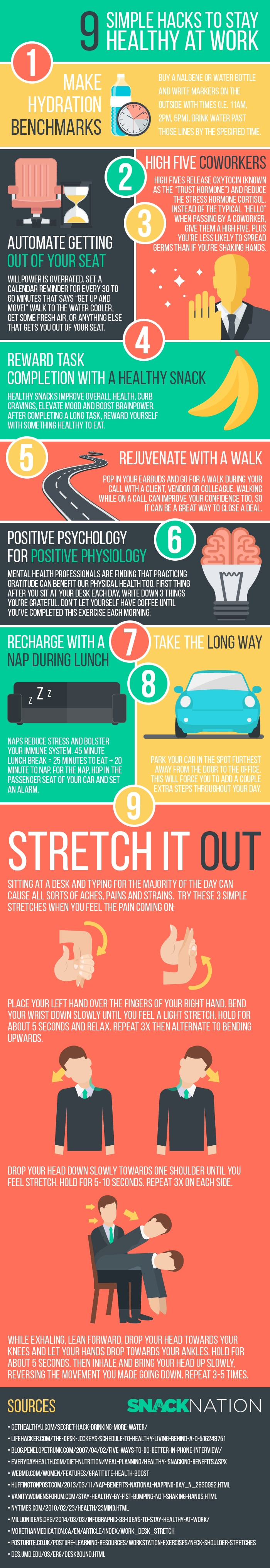 9-simple-hacks-to-stay-healthy-at-work-infographic-min