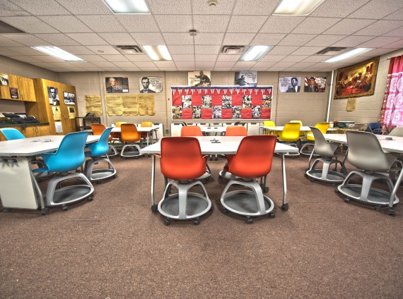 Red Oak High School - Red Oak Iowa - Test Drive Active Learning Classroom