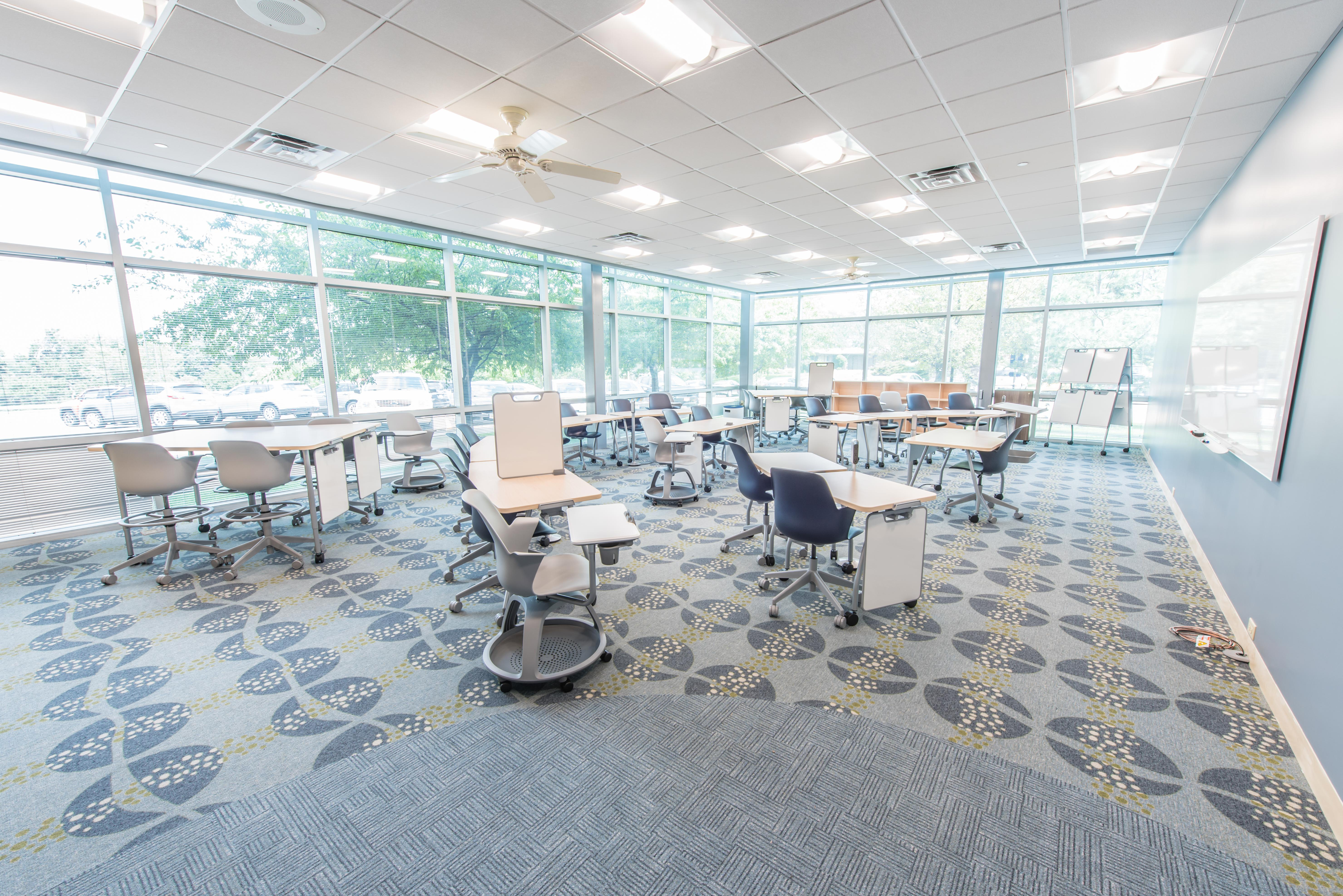 Captivating Methodist College Active Learning Classroom