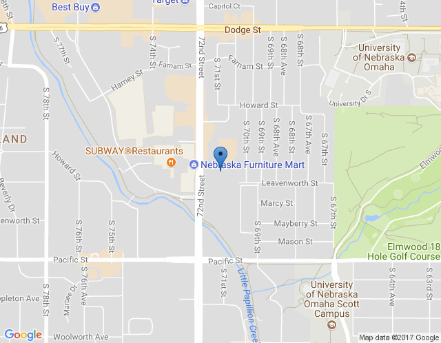 Map of Omaha Office